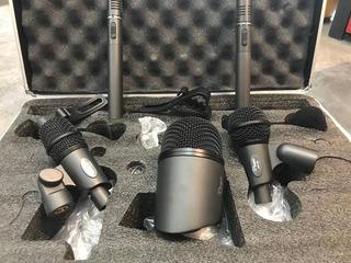 Set De Microfonos Para Bateria Parquer Ar - 5a 5pc
