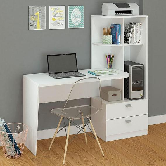 Mesa Para Computador Elisa Brilho Permóbili