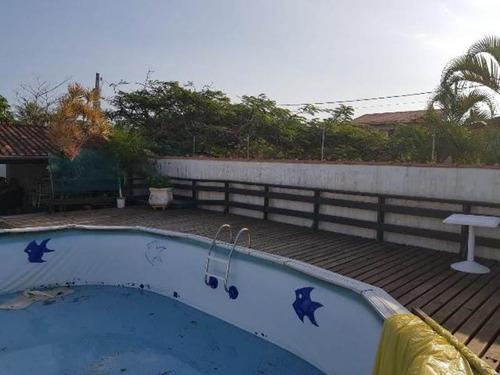 Casa No Gaivota C/ Piscina E Área Gourmet- Itanhaém 4357 Npc