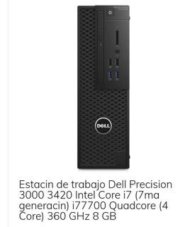 Pc Cpu Dell Precision Tower 3420