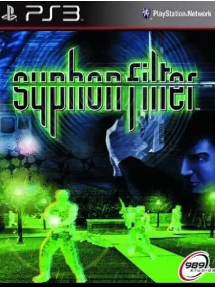 Syphon Filter Ps3( Clássico Ps1) Psn Envio Já