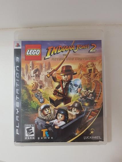 Jogo Lego Indiana Jones 2 Ps3