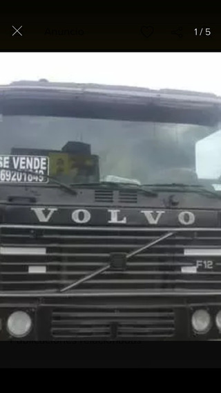 Volvo F12 Turbo Intercooler Con Carreta De Tres Ejes 100% Op