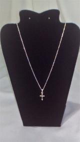 Correntinha Crucifixo Prata 925 Feminina