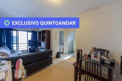 Apartamento No 2º Andar Com 1 Dormitório E 1 Garagem - Id: 892932040 - 232040