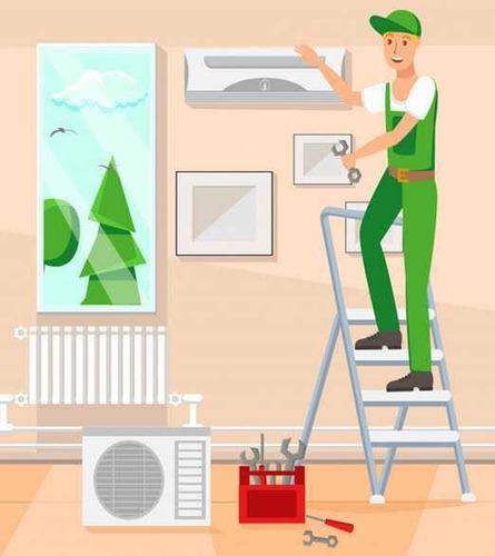 Imagem 1 de 1 de Trabalho Com Manutenção De Ar Condicionado Limpeza Periodica