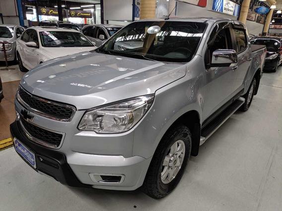 Chevrolet S10 Lt 2.4 Cabine Dupla Prata 2013 (baixa Km)