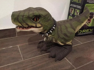Drex Mattel Dinosaurio Robot