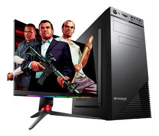 PC ARMADA CON MONITOR INTEL CELERON 16GB SSD Y HDD