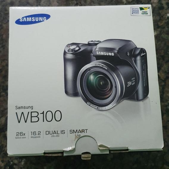 Maquina Fotográfica Samsung Wb 100 Semi-novo Usado