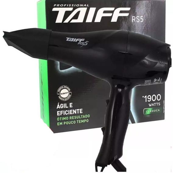 Secador De Cabelos Taiff Profissional Rs5 Preto