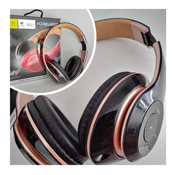 Fone De Ouvido Bluetooth Altomex A995 Radio Fm Mp3 Sd
