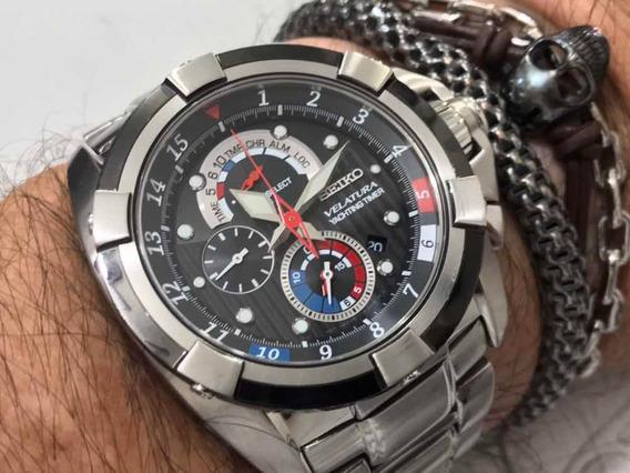 Seiko Velatura Yachting Timer 7t84-0aa0 Chronograph Quartz