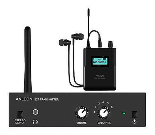 Sistema Inalámbrico Monitoreo In Ear Anleon S2 Kit