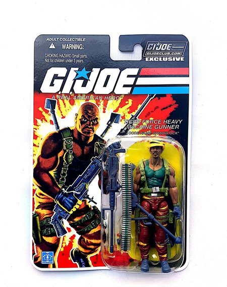 Gi Joe 25th Collectors Club Roadblock Tiger Force Sem Juros