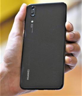 Huawei P20 128gb Negro, Fundas En Caja Todos Los Accesorios