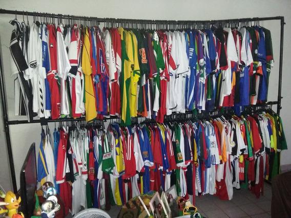 Camisas De Futebol: Rara Coleção Com 581 Ítens