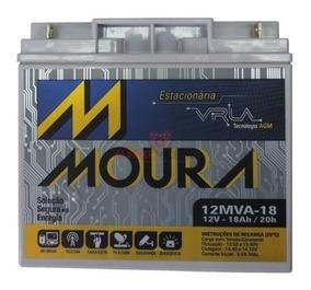 Bateria Moura Vrla - 12v 18ah P/ Nobreak E Outros