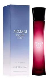 Decant Amostra Do Perfume Giorgio Armani Code Satin 10ml
