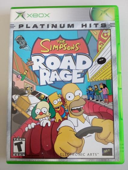 The Simpsons Road Rage Xbox 360 E Xbox Clássico Raro