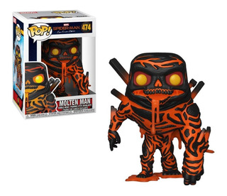 Funko Pop Marvel Spiderman Man - Molten Man 474