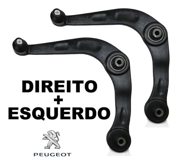 Par Bandeja Peugeot 206/207 Hoggar/sw 99/ (todos) Com Pivô