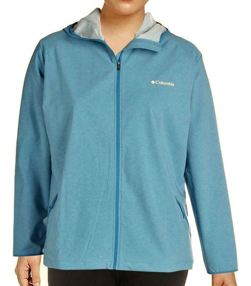 Chaqueta Mujer Columbia Heather Canyon Softshell Talla 1x 2x