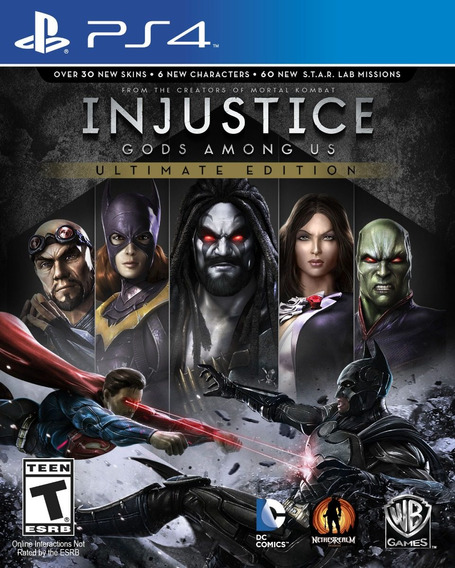 Game Ps4 Injustice Gods Us Among - Original - Novo - Lacrado