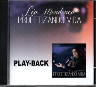 Cd Playback Léa Mendonça - Profetizando Vida
