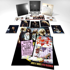 Guns N´ Roses App Destruction Super Deluxe Box Cd Blu Ray