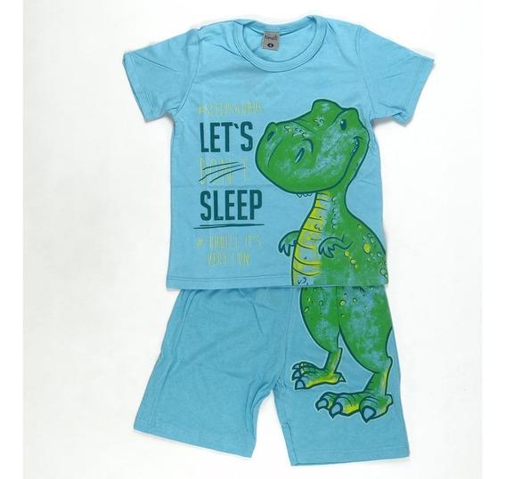 Pijama Sleepsaurus Brilha No Escuro Kamylus Pepila