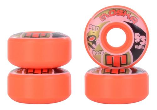 Moska Roda Moska Skate Rock 53mm 53d Laranja / 53mm