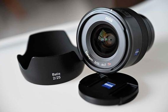 Lente Zeiss Batis 25mm F2 Para Sony E Mount +filtro Uv Zeiss