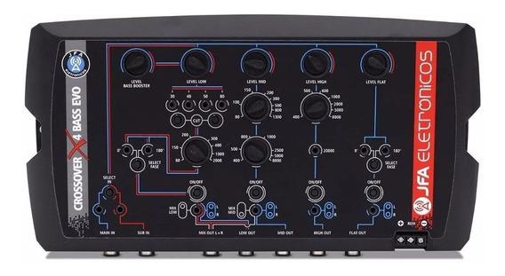 Crossover Digital Eletrônico Jfa 4 Vias X4 Bass 24db/8
