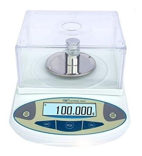 Balanza Analítica Precisión Digital De Laboratorio 300g