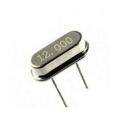 Cristal Oscilador 12.000 Mhz Hc-49s Kit C/ 100pçs