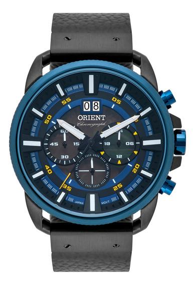 Relógio Orient Cronógrafo Masculino Couro Mtscc037 P1px