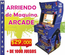 Arriendo Arcade, Air Hockey, Taca Taca, Luces Fiesta, Fluor