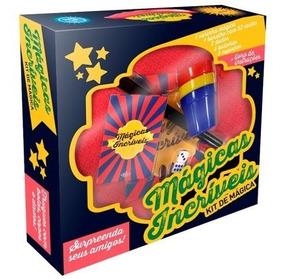Kit Magicas Incriveis Brinquedo Infantil Menino/menina