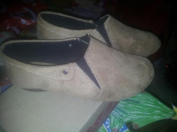 Zapatos Tipo Botin Bajo De Niña Talla 31