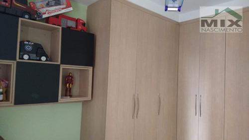 Apartamento Padrão Mobiliado Em Vila Goncalves  -  São Bernardo Do Campo - 3293