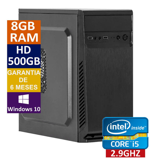 Pc Cpu Computador Intel Core I5 3470s + 1tb Hd + 8gb Ram