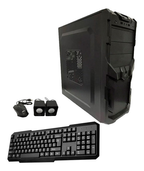 Gabinete Kit Brb 550w Teclado Mouse Parlante Mexx