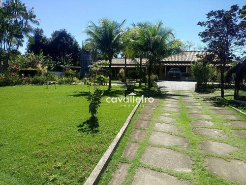 Casa Residencial À Venda, Condado De Maricá, Maricá. - Ca2595
