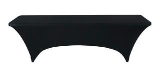 Mantel Tipo Lounge Para Mesa Plegable De 2.44mts