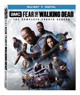 Blu-ray Fear The Walking Dead Season 4 / Temporada 4