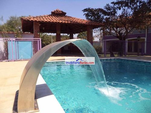 Imagem 1 de 30 de Chácara Residencial À Venda, Loteamento Chácaras Vale Das Garças, Campinas. - Ch0014