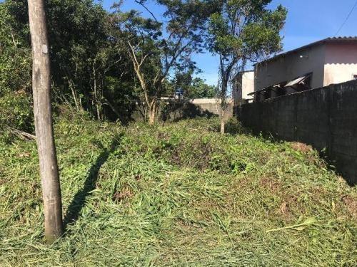 (ref: 5294) Terreno 50% Murado - Itanhaém/sp - Gaivota