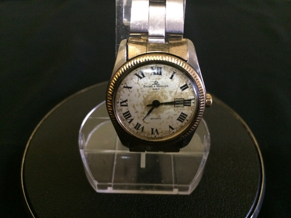 Relógio De Pulso Baume&mercier Baumatic Swiss