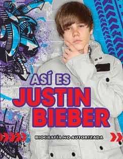 Set De 3 Libros De Justin Bieber